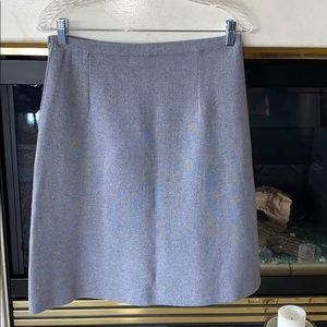 Vintage Finely Tailored 100% Knit Wool Skirt